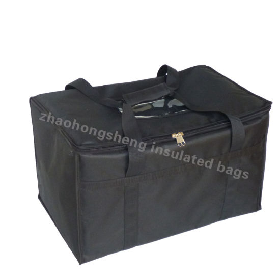 Large Insulated Thermal Hot Food Pizza Catering Delivery Bags Custom Logo