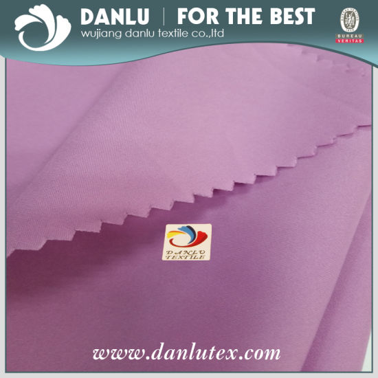 China Factory Pongee Fabric, Stretch Pongee, Trousers Fabric, Shorts, Beach Pants Fabric