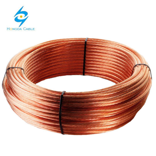 China Earth Ground Wire Cable 35mm2 50mm2 70mm2 Bare Copper ...
