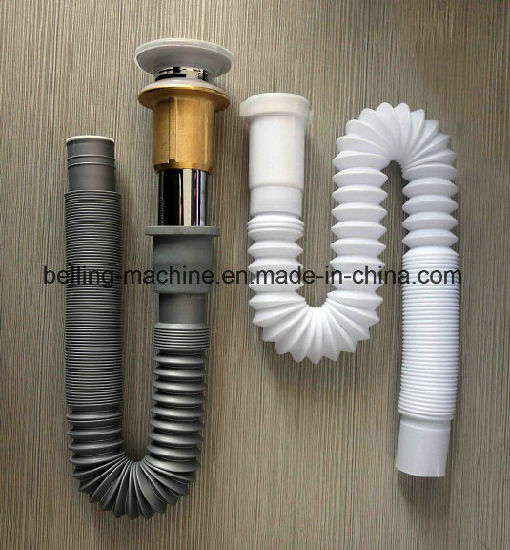 Plastic PVC PP PE Single Wall Corrugated Pipe Production Line/Extrusion Line pictures & photos