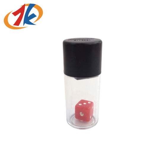 Novelty Plastic Magic Dice Bottle Toy for Promotion pictures & photos