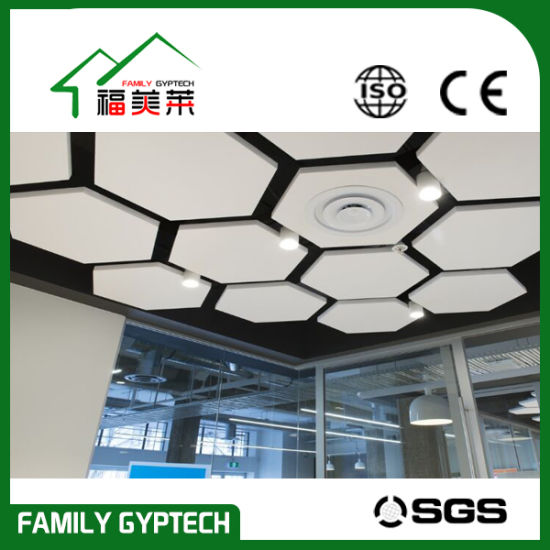 China Hanging Acoustic Baffles Hanging Sound Asorbing Panels
