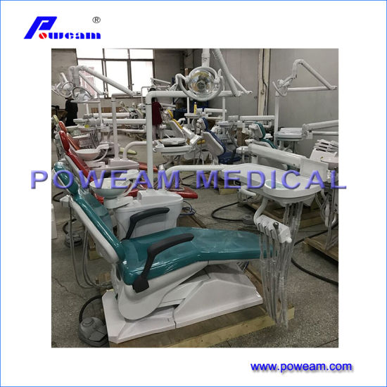 China Best Medical Stomatological Instruments Dental Equipment Electric Dental Chair Unit pictures & photos