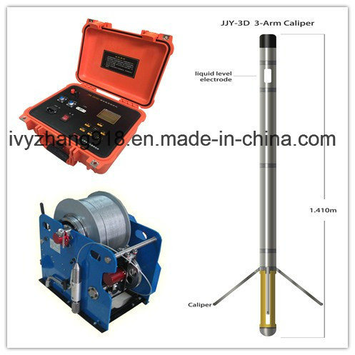 Natural Gamma Water Well Logger Sp Groundwater Borehole Log Resistivity Underground Logging