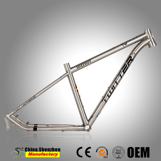 High Quality Hot Sale Titanium Mountain Bike Frame