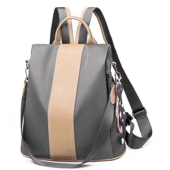 Shoulder Backpack Female New Nylon Shoulder Bag Female Anti-Theft Backpack