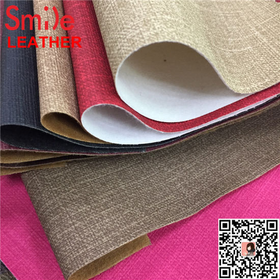 Jeans Grain PVC Leather for Upholstery 0.7mm
