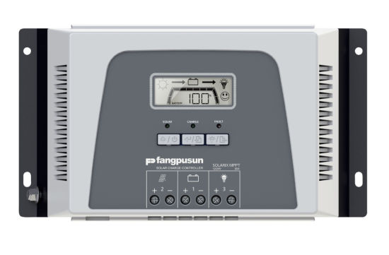 Fangpusun Solar Energy System 900W 12V 24V Rated Voltage Life04 Battery Charger MPPT 30A Controller with WiFi