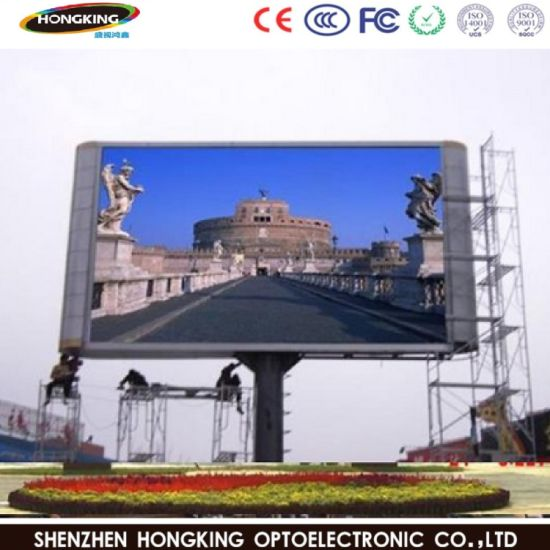 P6 Outdoor Full Color LED Display Panel for Advertising