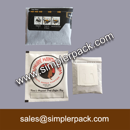 Wholesale Drip Coffee Bag Ultrasonic Sealing Filling Packaging Machine
