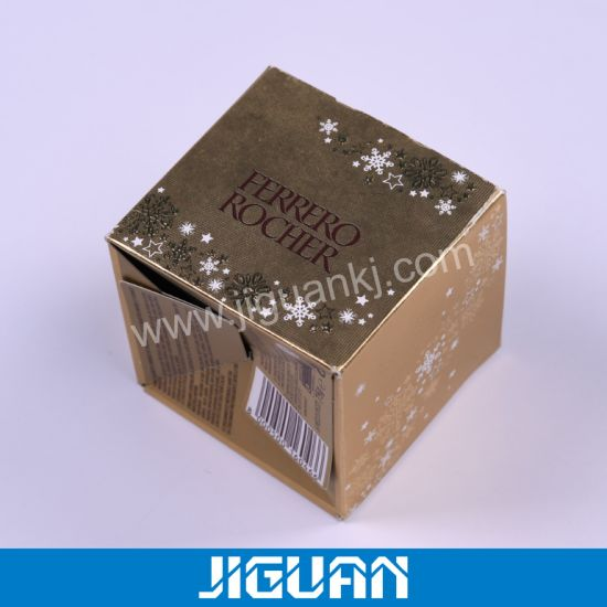 Custom Printed Luxury Cosmetic Packaging Paper Box pictures & photos