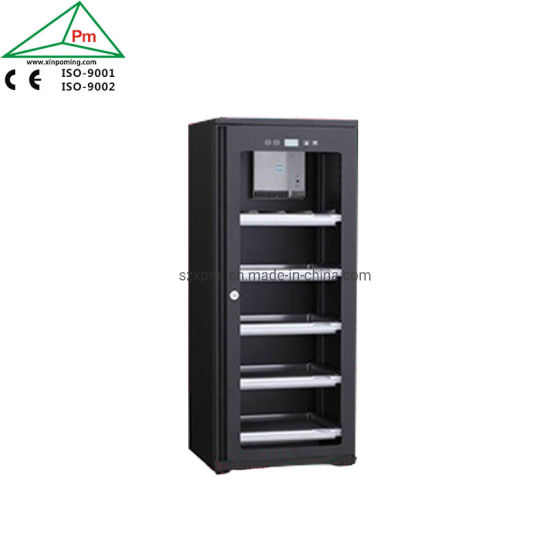 5 Racks Electric Dry Cabinet 122L Capacity with Ce Certification for Camera