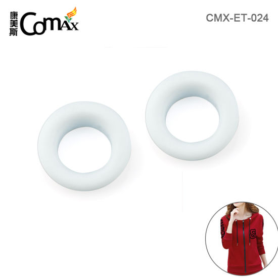 Wholesale Custom Metal Eyelets and Grommets for Shoes, Design Special 17mm White Metal Grommets for Clothing
