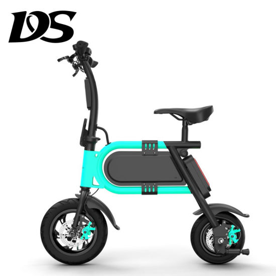 Mini Fashion Smart Bike 36V 350W 12inch Lithium Battery Easy Folding Electric Bike pictures & photos