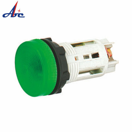 Ba9s White Base Without Incandescent Lamp Green Lighting Lamp Case