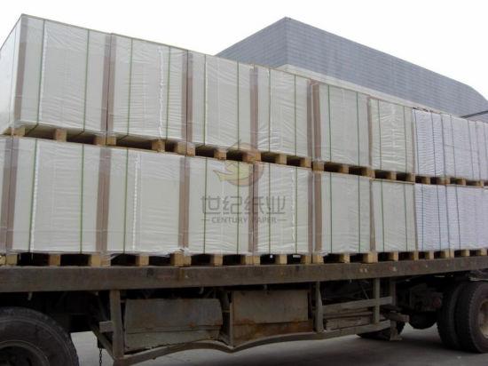 Ningbo C1s Folding Box Board /Fbb/ Bleach Art Card Board