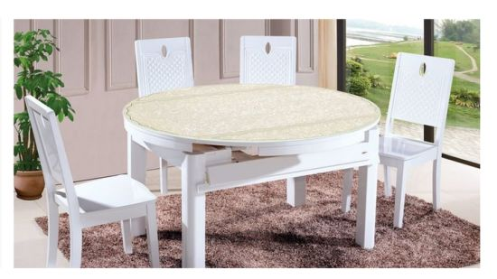 Extendable Dining Sets Extension, Round Extendable Dining Table Set With 6 Chairs