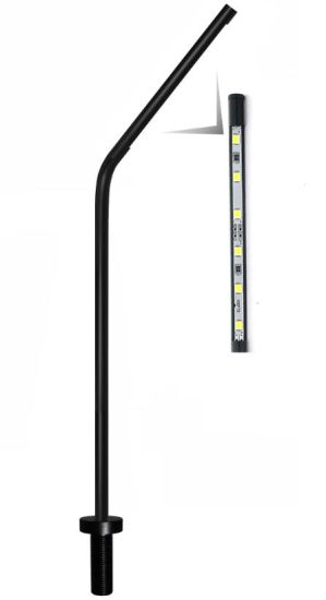 LED Thin Pole Light for Watch Cabinet, Watch Window,