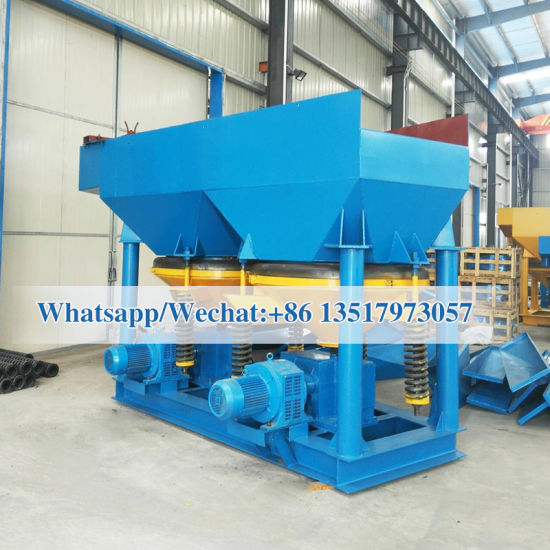 China Alluvial Gold Gravity Jig Concentrator Machine