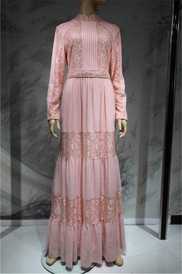 2019 OEM Design Wholesale Dubai Long Evening Party Dress Muslim Party Wear