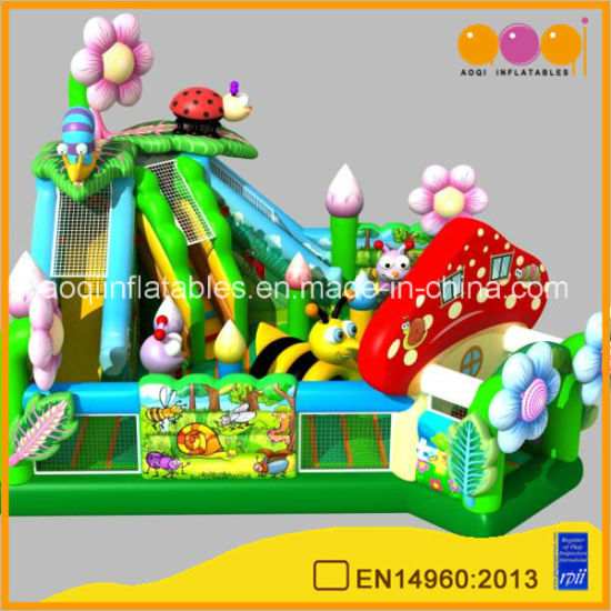 2018 New Design Insect Themed Inflatable Park for Kids (AQ 01867) pictures & photos