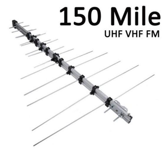 Directional 32e Yagi Antenna UHF VHF Outdoor TV Antenna for High Digital TV