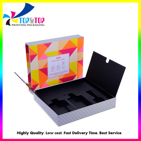 Factory Customized Printing Luxury Cosmetic Gift Box with Lid and Base pictures & photos