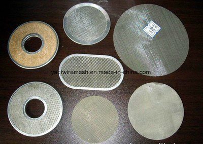 200mm Stainless Steel Air Filter Disc Single Layer Multi Layer