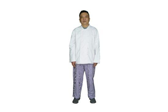 Chef Coat, Executive Chef Uniform, Long Sleeves Chef Jacket