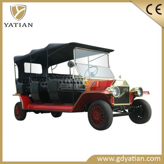 Hot Sale 4 Wheel 100km Mileage Electronic Classic Vintage Car