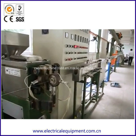 Wire Machine Cable Making Equipment Teflon Cable Manufacturing