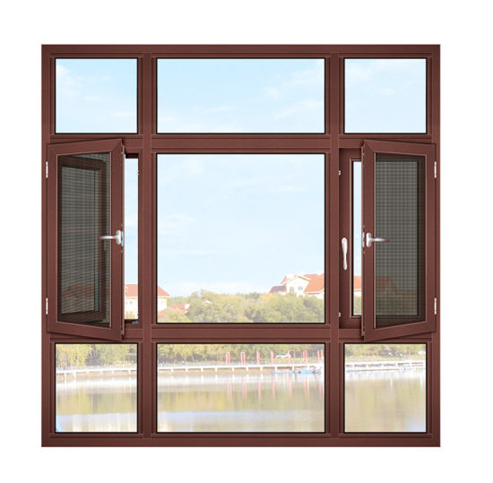2020 Most Popular Heat Insulation Casement Window with Double Low-E Glass