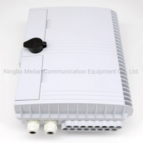 Pole Mount Lgx Type Outdoor PC Plastic 16 Core Optical Terminal Box Distribution Box