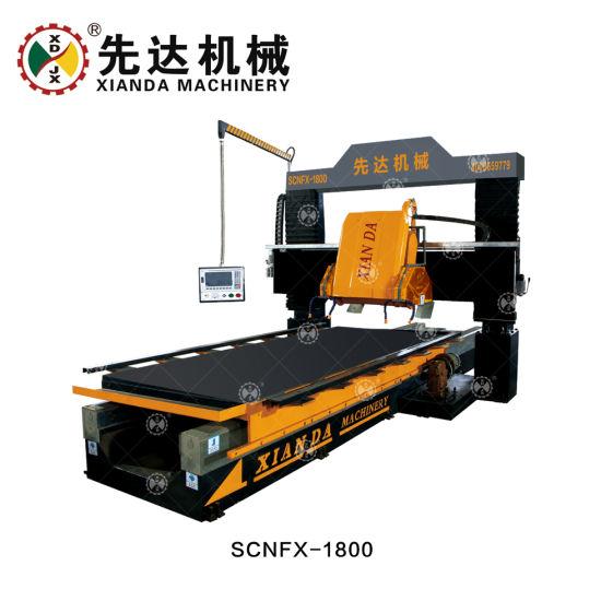 CNC Four Gantry Stone Profiling Linear Machine/Lifting Type Gantry Profiling Linear Machine