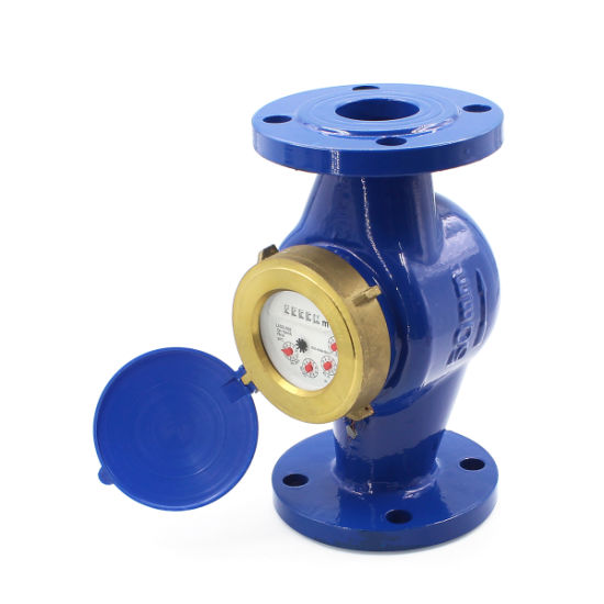 Cast Iron Flange Water Meter Rotor Type Cold Water Meter High Temperature Resistance Hot Water Meter