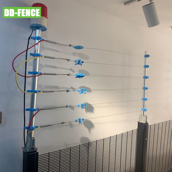High Voltage Pulse Electronic Fence Alarm System, security Fence, CE Certification