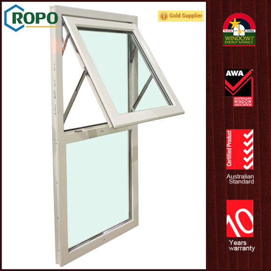 china awa member pvcu double glazing awning window design china