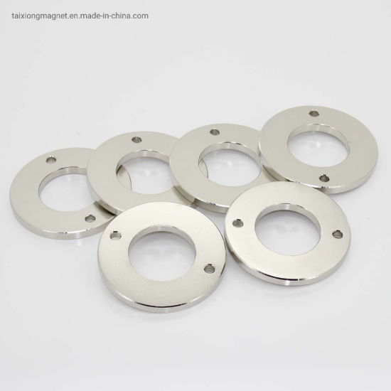 China Supplier Multipole N52 Powerful Thin Disc Magnet
