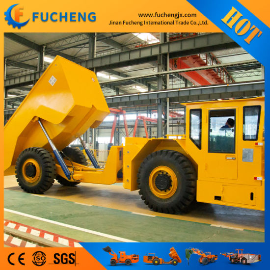 China factory mining underground dump trucks with DANA shift transmission pictures & photos