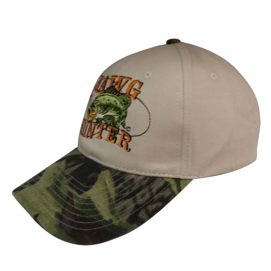 China Hot Sale Baseball Cap with Camo Peak Gjbb216 - China Baseball ... b02cac6a148
