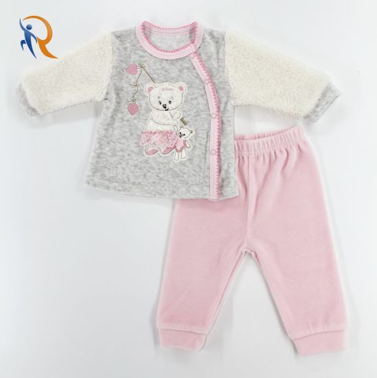 2020 Factory Custom Baby Girl Winter Warm Fashion Baby Clothes