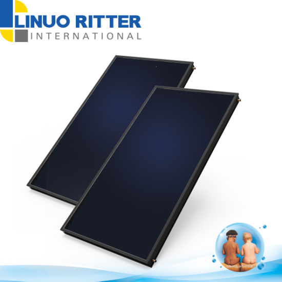 Flat Plate Solar Collector with European Certificate