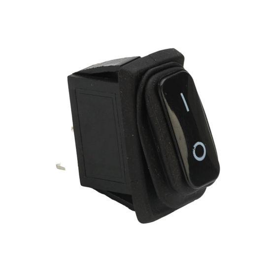 6A 250V AC on off 2pin Spst Mini Print 0 1 Round Electrical Rocker Switch