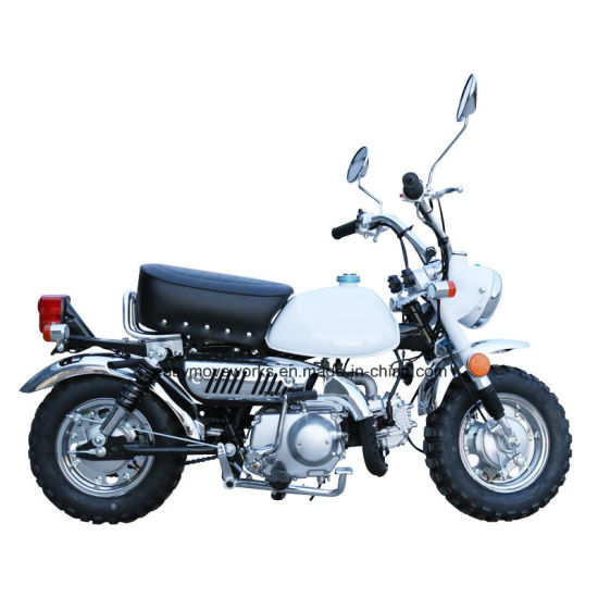 New Model of Classic Motorcycle