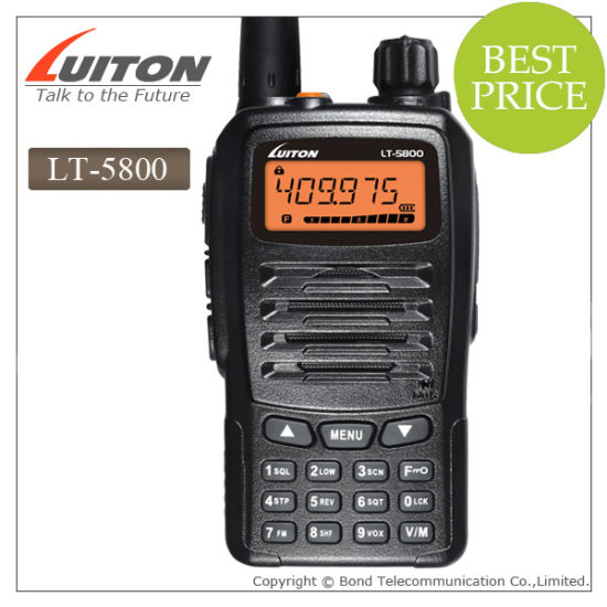 Two Way Radio Lt -5800 UHF Radio pictures & photos