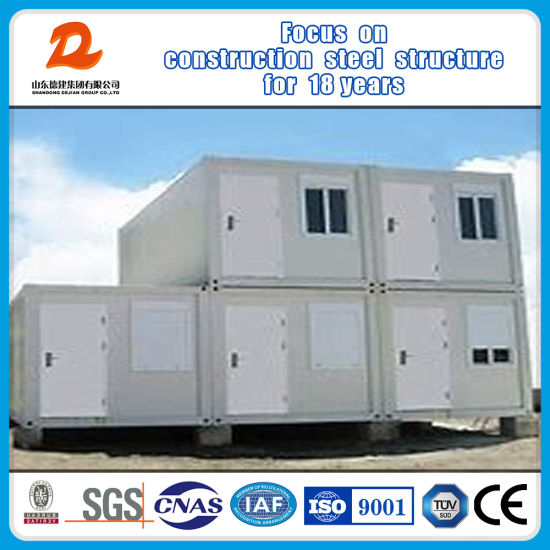 Prefabricated Container House with Galvanized Steel Structure