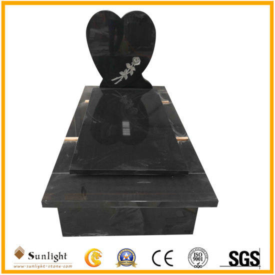 China Monument Factory G664/Shanxi Black/G603/Aurora/G654/Multicolor Red Granite/Marble Stone European Style Carving Angel Cemetery Headstone/Tombstone