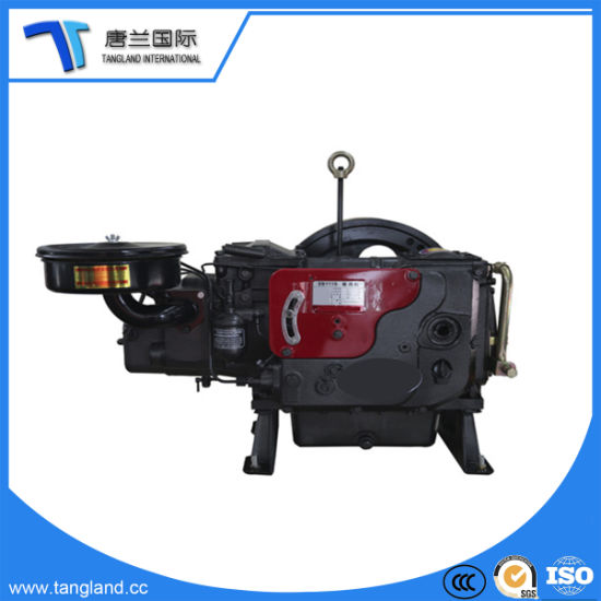 4-Stroke Single Cylinder Marine/Generator/Agricultural/Pump/Mills/Mining Water Cooled Diesel Engine for Sale