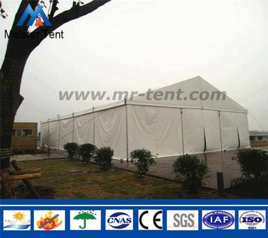 Fireproof Aluminum Frame PVC Canopy Shelter Warehouse Tent for Storage & China Fireproof Aluminum Frame PVC Canopy Shelter Warehouse Tent for ...