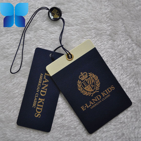 Hot Sell High Quality Printed Paper Label Tag for Clothing/Garment